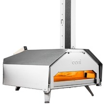 Ooni outdoor pizza ovens heat up to 932° F for the very best pizzas imaginable, in just 60 seconds! Models available to burn wood, charcoal, pellets or gas!