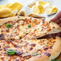 Whip up this easy pizza dough today and store extra in the freezer for a pizza night down the road!