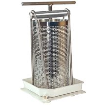Press small quantities of apples into fresh cider with the strong, 1.25 gallon Tabletop Fruit Press!