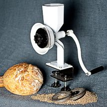 Save $20 on your purchase of the Wonder Junior Deluxe Grain Mill!