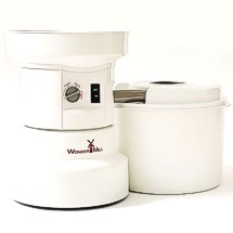The WonderMill electric grain mill is fast, easy, strong and dependable. Ditch