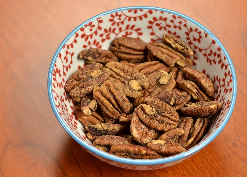 Crispy Pecans and Walnuts (w/holiday variation)