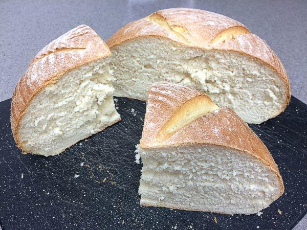 White Sandwich Bread for a Crowd