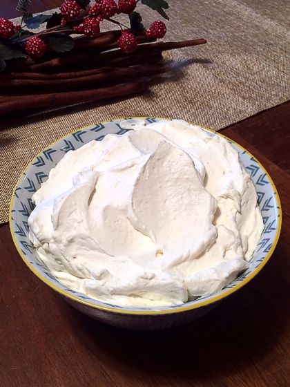 Stabilized Whipped Cream