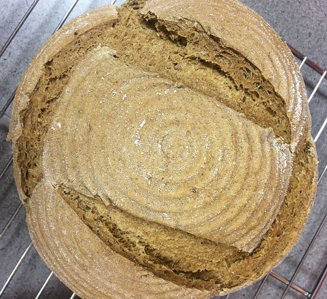 30% Whole Rye Flour Sandwich Bread
