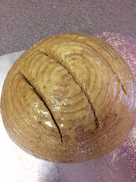 40% Whole Rye Flour Sandwich Bread
