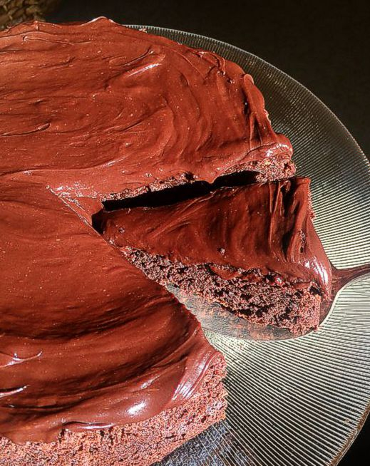 Gluten Free Dark Chocolate Cake