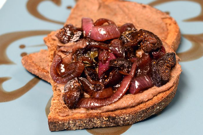Chicken Liver Pâté with Mushrooms