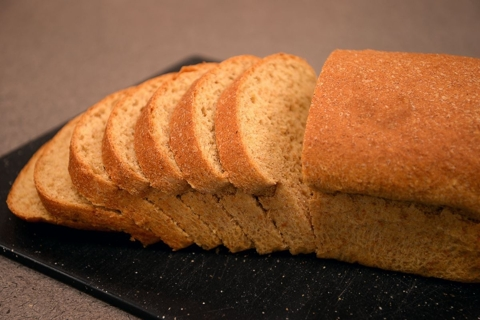 Spelt/Kamut bread made in Bosch Compact