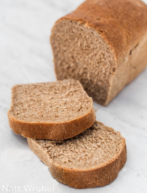 Whole Wheat Sandwich Bread for Bosch Universal — 8 Loaves
