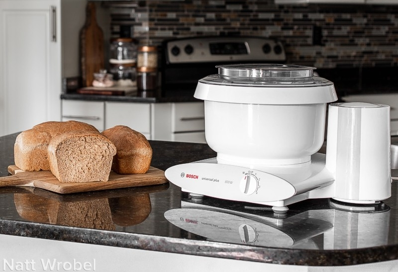 Whole Wheat Sandwich Bread for Bosch Universal — Eight Loaves