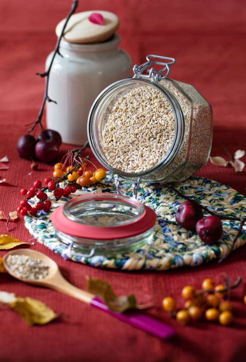 Amaranth and Steel Cut Oats Porridge