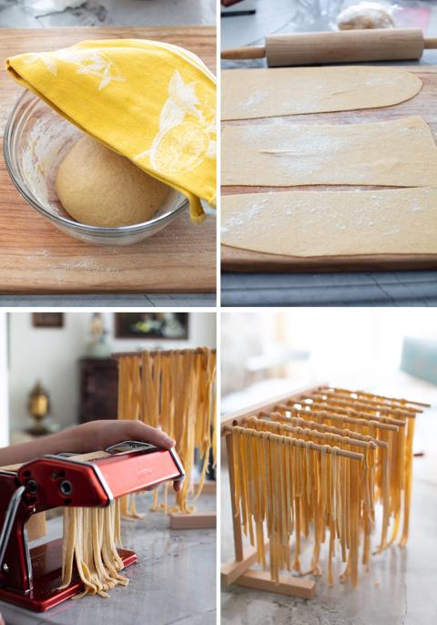 Homemade Durum Pasta