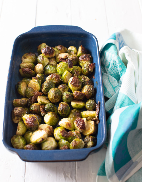 Quinoa & Maple Roasted Brussels Sprouts