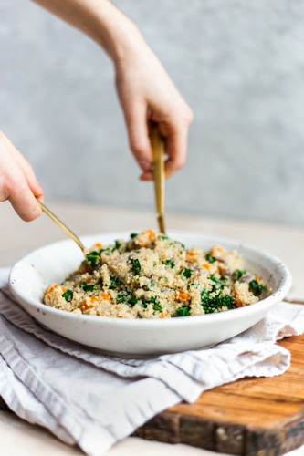 Simple Quinoa with Vegetables