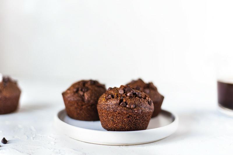 Triticale Chocolate Muffins
