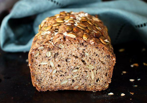Rye Bread with Rye Berries & Seeds
