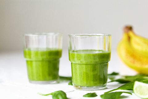 Quick and Healthy Green Smoothie