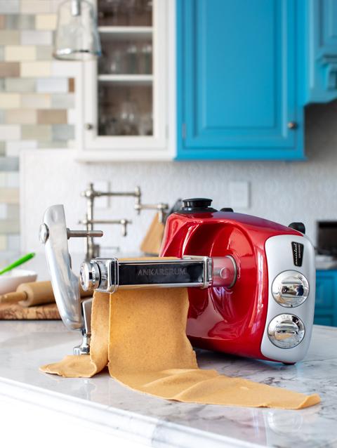 Homemade Tortellini with Ankarsrum Lasagna Roller