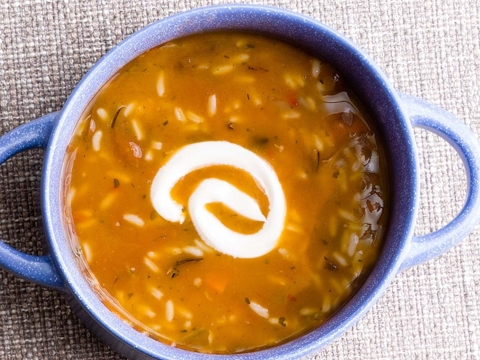 Quick Southwestern Beef Soup