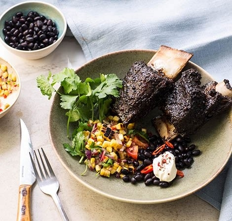 Chipotle and Coffee Barbecued Short Ribs
