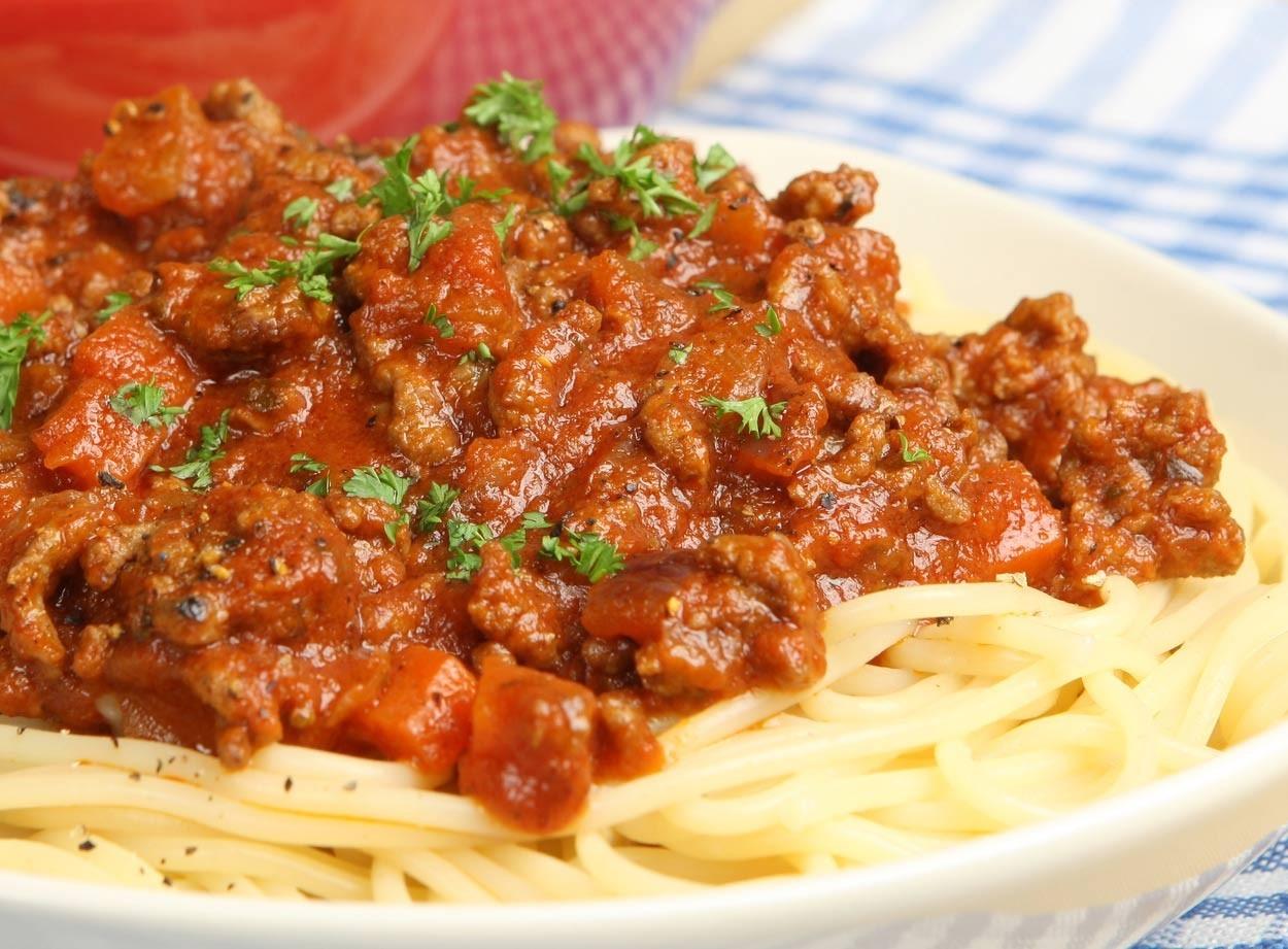 Easy Bolognese Pasta