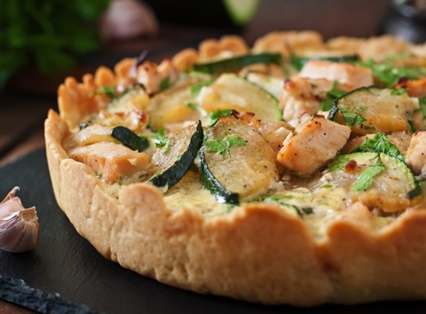 Garden Turkey Tart
