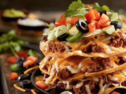Traditional Mexican Tostada