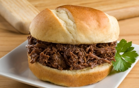Easy BBQ Beef Sandwiches