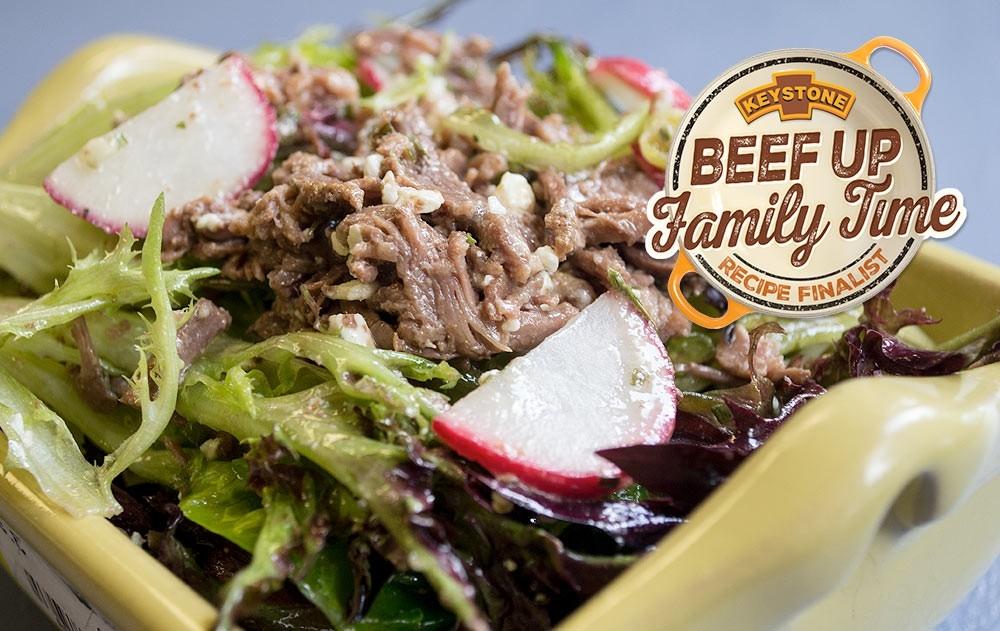 Beef and Gorgonzola Tarragon Salad