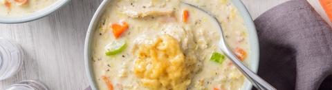 Creamy Chicken and Buttermilk Dumplings
