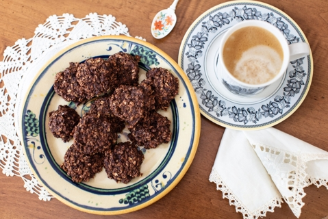 Banana and Rolled Oats Cookies