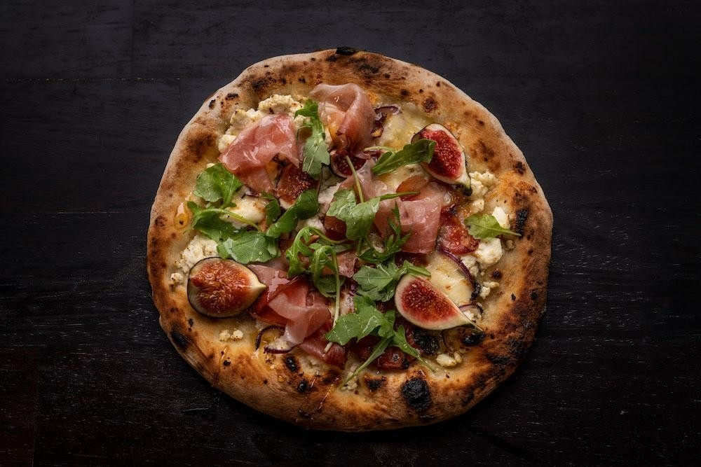 Prosciutto, Fig & Ricotta Pizza