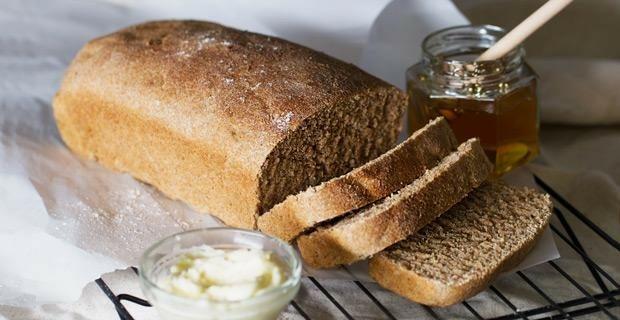 Honey Whole Wheat Blender Bread