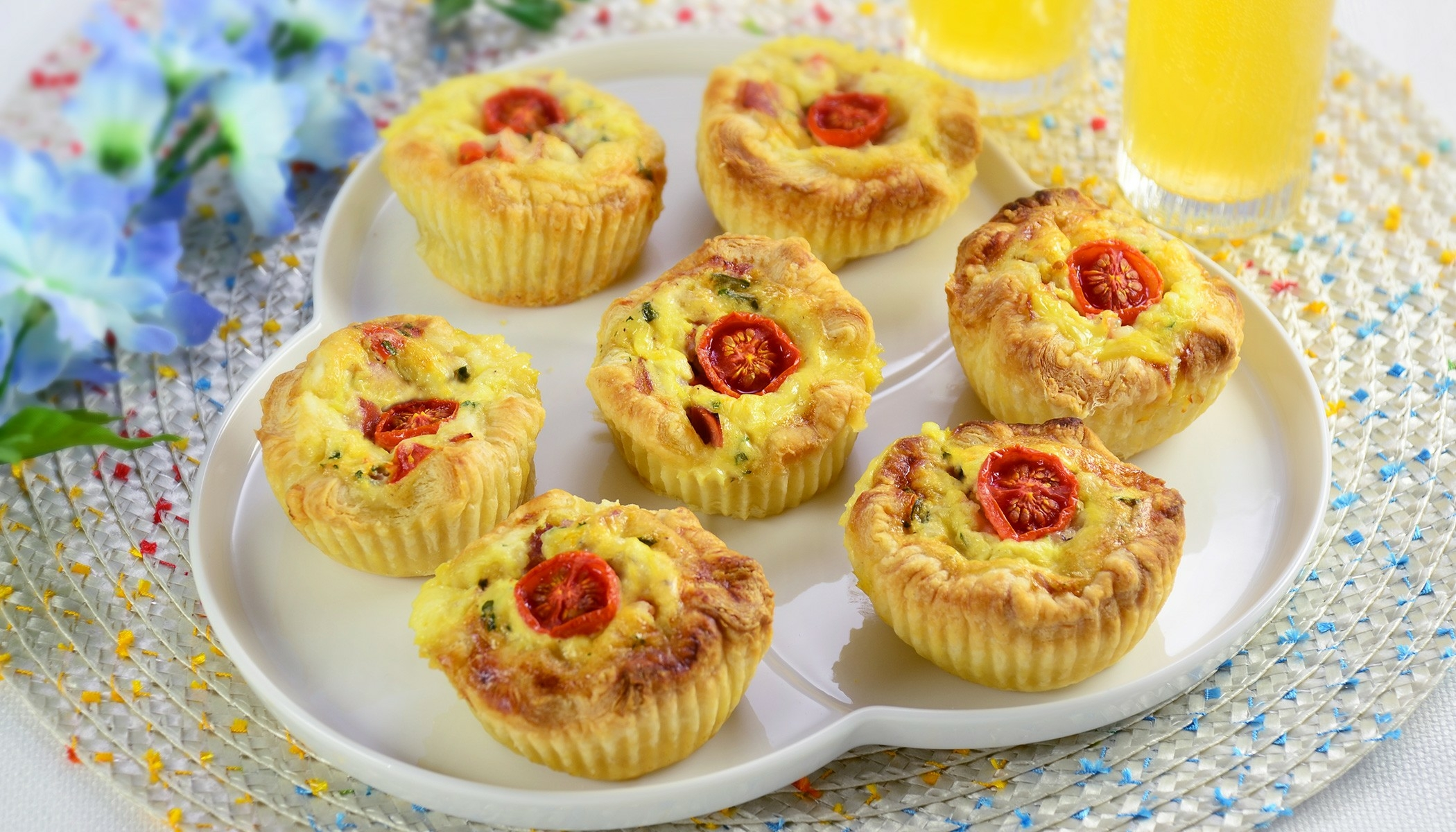 Mini Toaster Oven Quiche