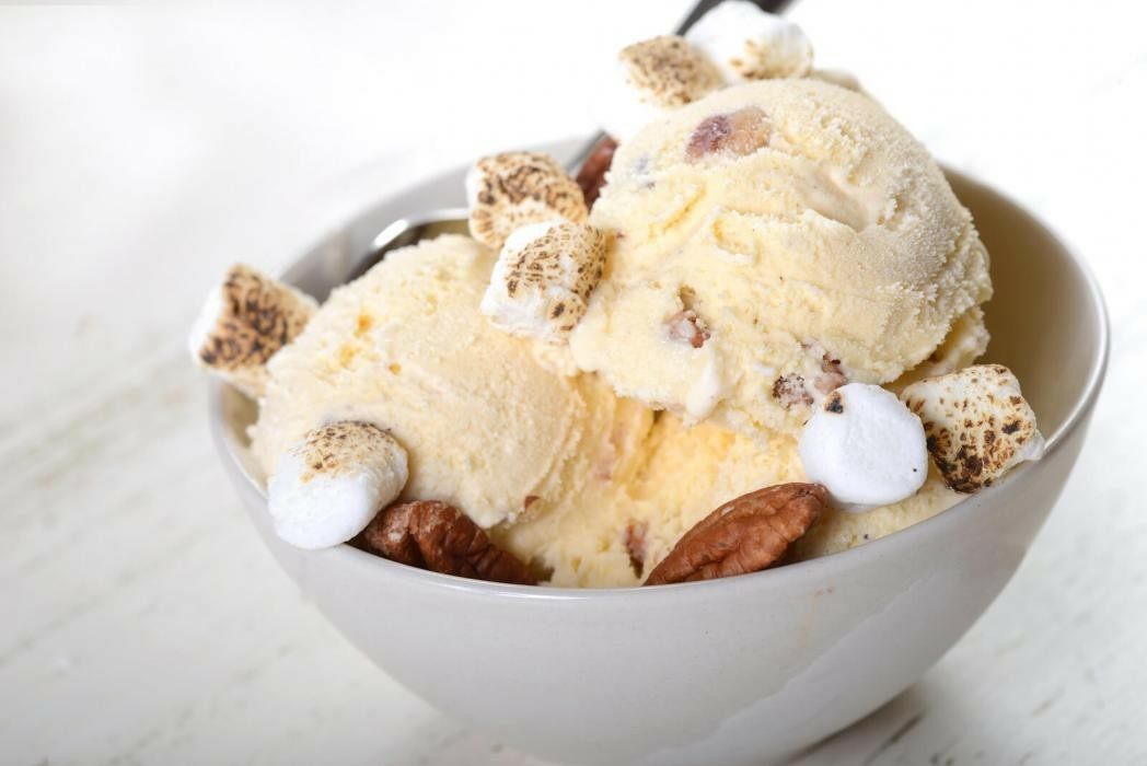 Creamy Butter Pecan Ice Cream