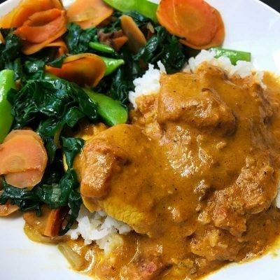 Slow-Cooked Chicken Tikka Masala