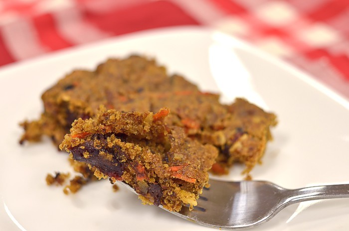 Berry Carrot Sprouted Cookie Bars
