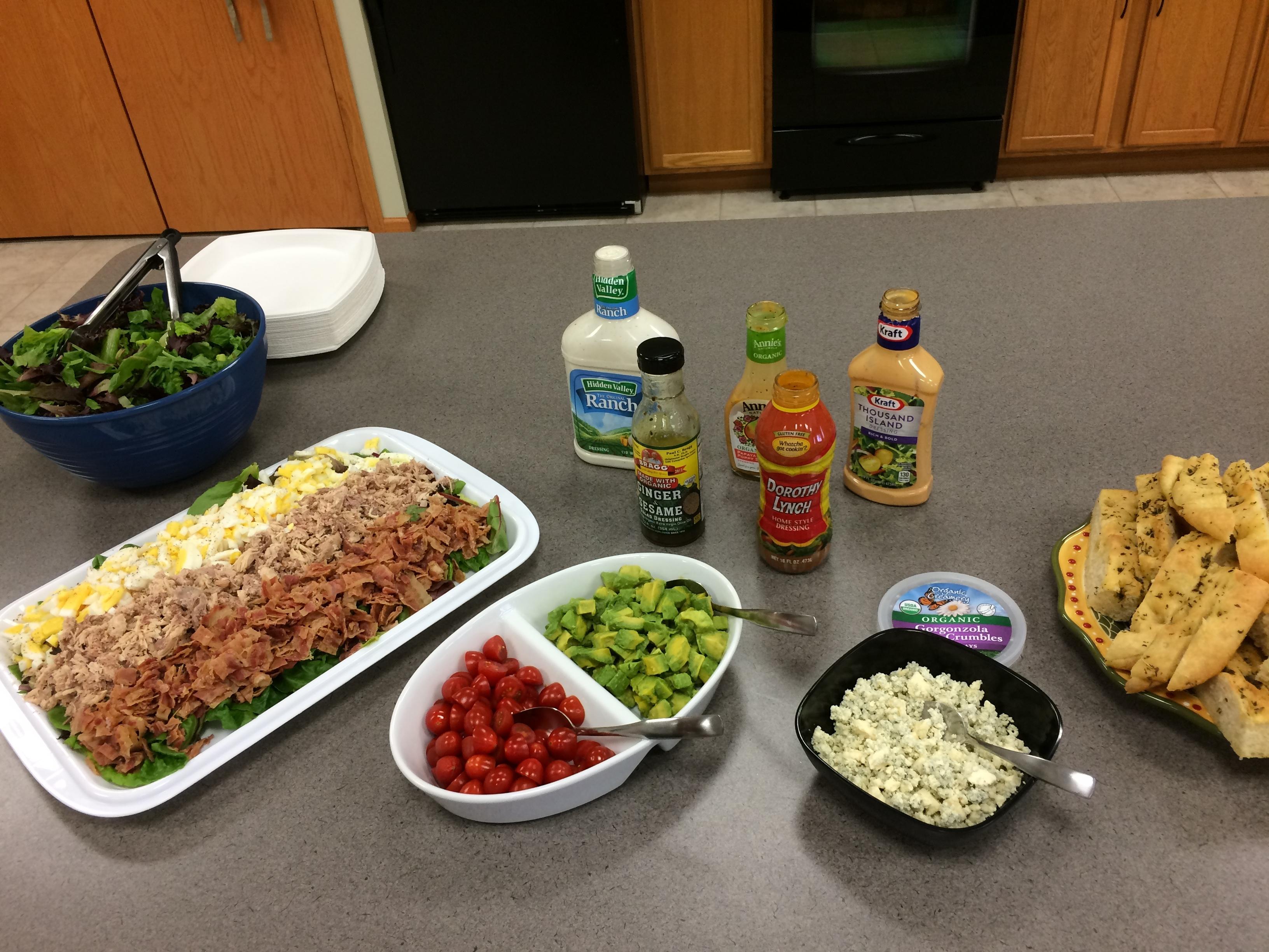 Cobb Salad for a Crowd