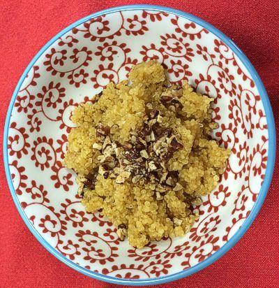 Orange Dessert Quinoa