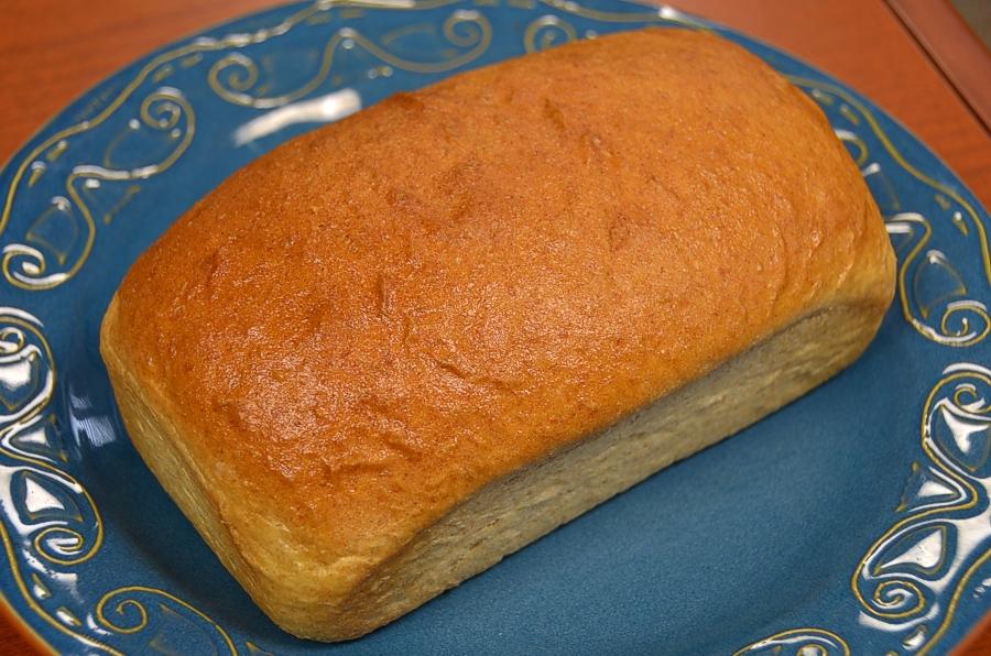 Spelt-Kamut Sandwich Bread