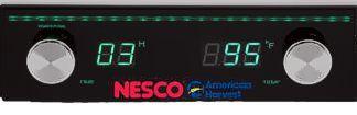 Dehydrator digital control feature