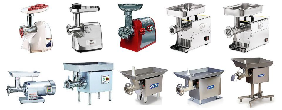 Meat grinder collection