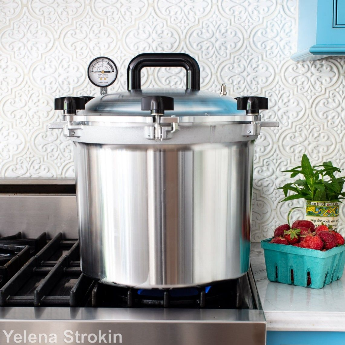 All American canner for meats and vegetables