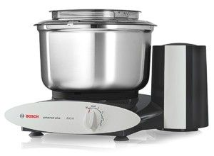 Black and stainless Bosch Universal Plus mixer