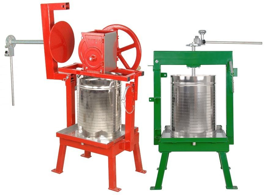 Maximizer & Glenwood apple cider presses