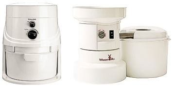 Impact burr mills, NutriMill and WonderMill