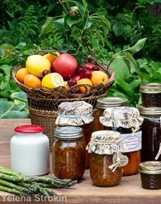 Canning summer produce