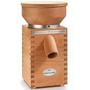 KoMo Classic Electric Grain Mill Beechwood
