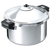 Kuhn Rikon Stainless Pressure Cooker, 12L family cooker